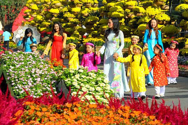 Lễ hội hoa xuân tại Đà Nẵng