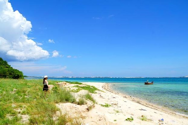 Bãi biển xanh ngọc Điệp Sơn