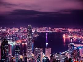Hong Kong lung linh dưới ánh đèn