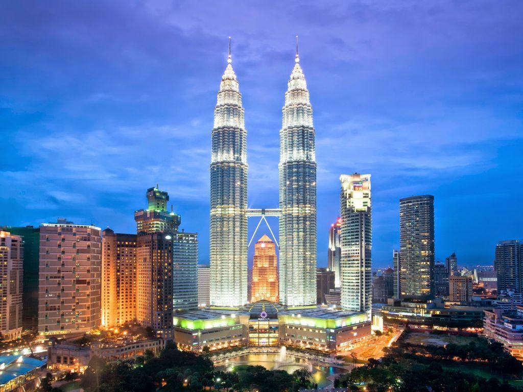 Tháp đôi - Petronas Twin Towers