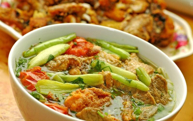 Bánh canh chả cá Kiên Giang